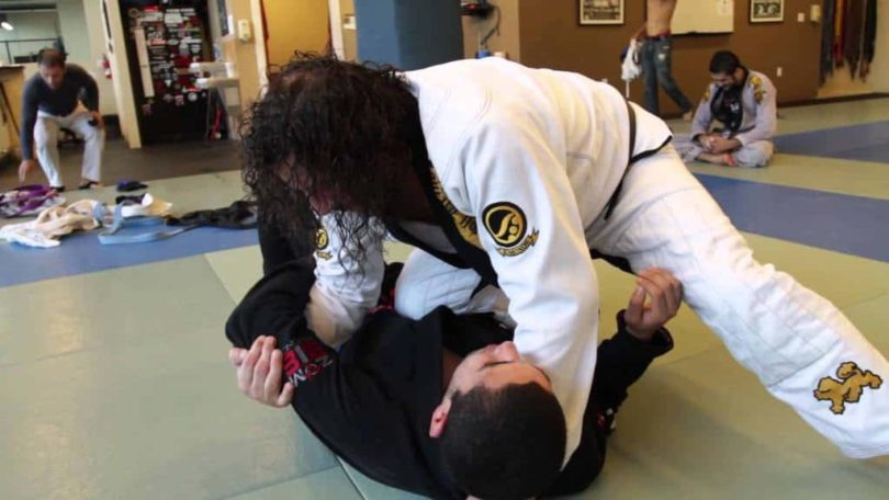 Knee on belly bjj