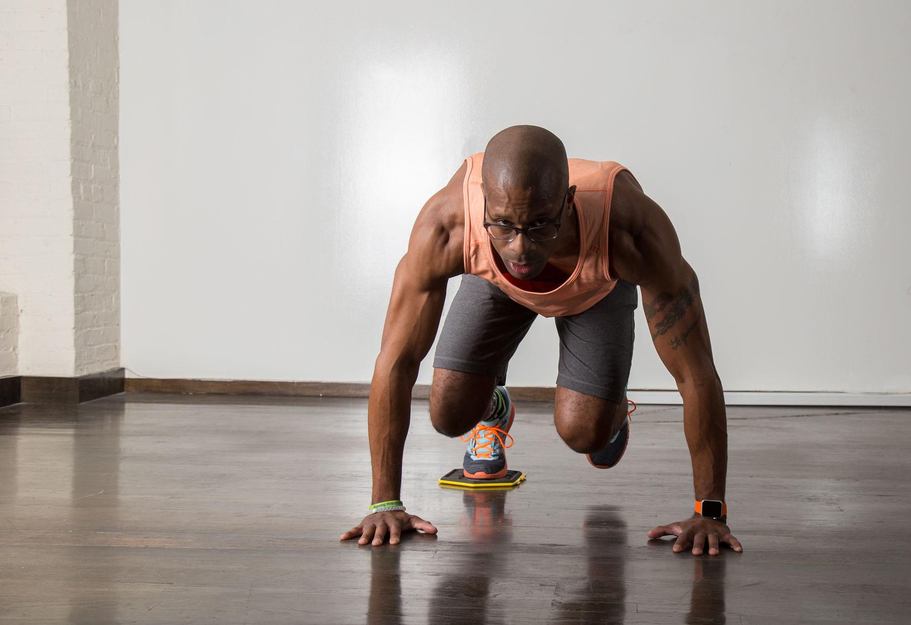 Træning med sliders: Hjemmetræning med klude 💪