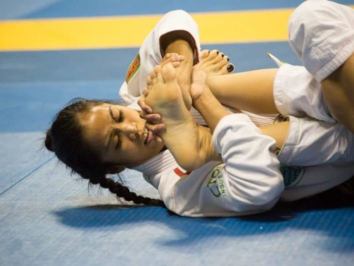 Toe Hold Submission