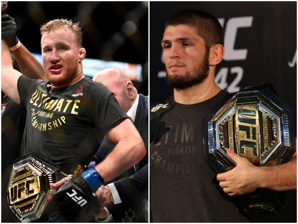 Nurmagomedov vs Gaethje: Announced