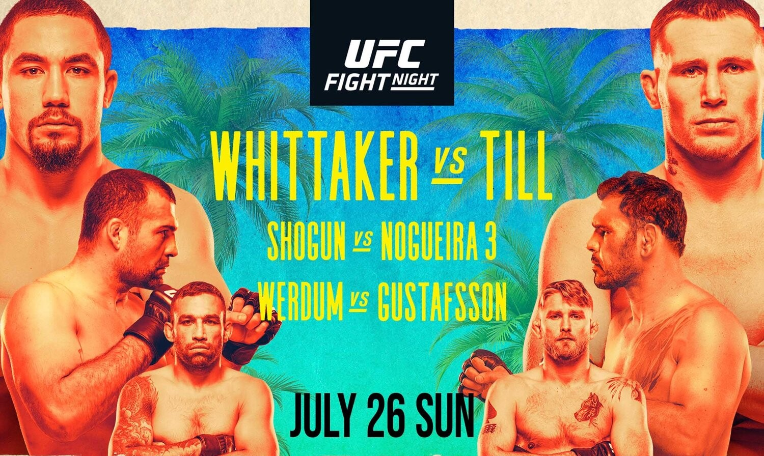 Ufc Fight Night 174 Preview Whittaker Vs Till Attack The Back