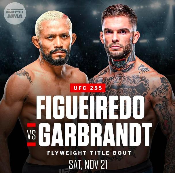Figueiredo vs Garbrandt Announced for UFC 255