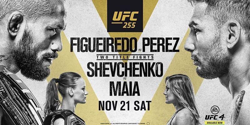 UFC 255: Figueiredo vs Perez – Results